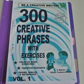 300 Creative Phases. Total about 55 pages.