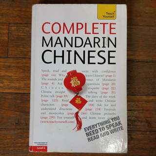 Teach Yourself Language Books, Complete Thai, Complete Malay, Complete Mandarin Chinese