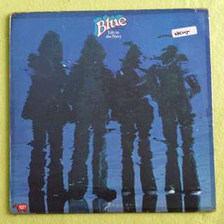 BLUE. life in the navy. Vinyl record