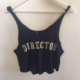 Director crop top