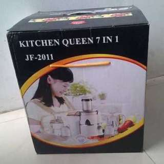 Power Juicer 7in1 Kitchen QUEEN Made Korea Blender Belender MURAH