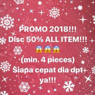 PROMO 2018!!! Shipping 31 Jan 2018!