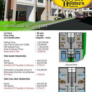 RENT TO OWN HOUSE AND LOT FOR SALE IN SAN JOSE DEL MONTE BULACAN