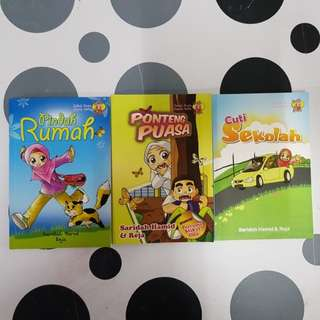 Malay story books (3titles)