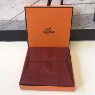 Hermes Leather Coin Bag