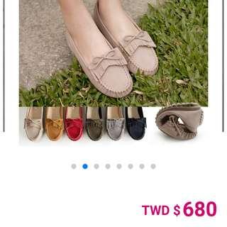 🚚 【全新】FM美鞋-流蘇豆豆鞋