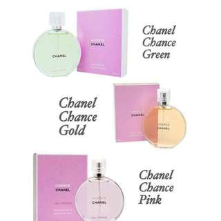 Authentic branded perfume