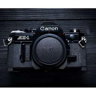 Canon AE-1 SLR film camera body