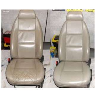 Car Seat leather wrap- Upholstery -Interior Leather works