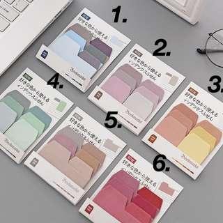 colour palette gradient sticky notes