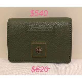 清貨 現貨 Tory burch card holder (軟皮)