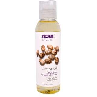Now Foods Castor Oil (118/473ml)