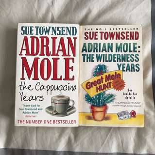 2 books by Sue Townsend