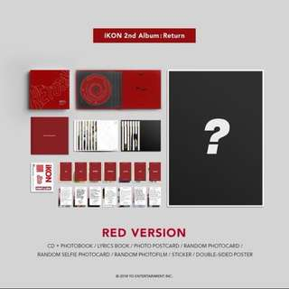 iKON 2nd Album [Return]