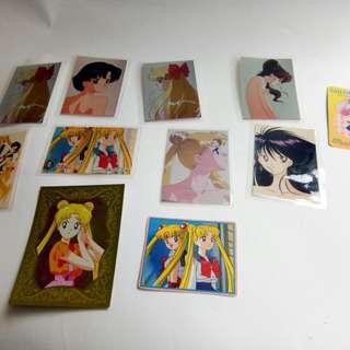 🚚 美少女戰士 3*5護貝卡+紙卡