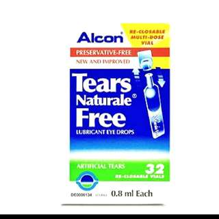 Bn Alcon Artificial Tears Eye Drop