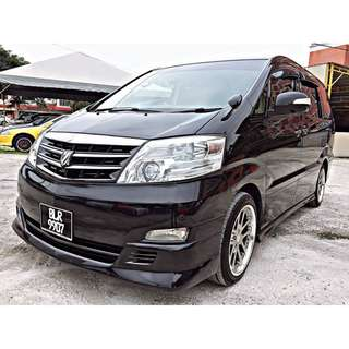 TOYOTA ALPHARD 3.0 MZG (A) 7 SEAT VVIP OWNER / 2P-DOOR / SUNROOF 2006/08