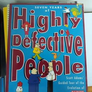 DILBERT Book - HIGHLY DEFECTIVE PEOPLE