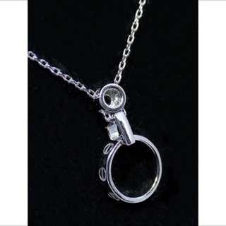 正生銀飾 卡地亞同款925純銀項鍊