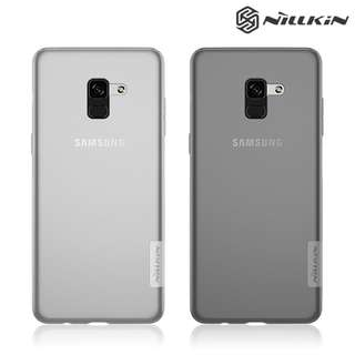 Galaxy A8+ A8 Plus 2018 NILLKIN 本色 四邊全包 簡約清水手機套 GSA3969A