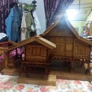 Mini heritage house 3'x2'x1.5 tggi