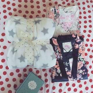 Cotton On bathrobe and kimonos
