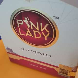 <instocks>100% Authentic PINK LADY~BODY PERFECTION Supplement