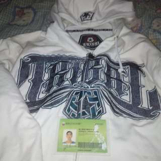 Tribal gear authentic hoodied jackets large