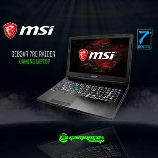 MSI GE63VR 7RE 218SG RAIDER (GTX1060 6GB GDDR5)