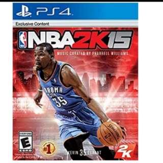 PS4 Game: NBA 2K15