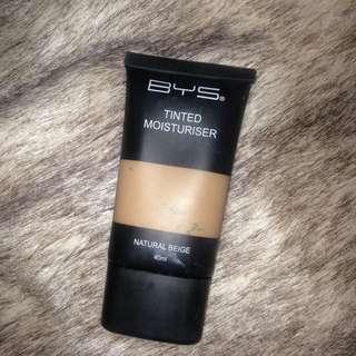 BYS tinted moisturizer