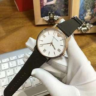 Authentic! 情人節禮物! big Sale ! Armani ar11011 Watch ! 手錶
