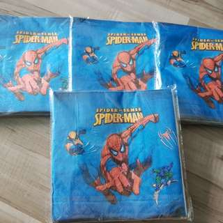 Spiderman Tissue Paper Towel