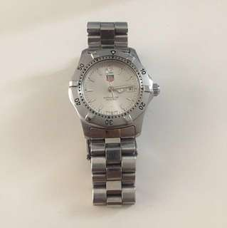 Tag heuer 2000 wk1312-0 wrist watch