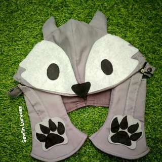 Fox Character Hoodie