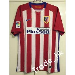 減價 ! Nike 全新有牌 15/16 馬德里體育會 馬體會 Atletico Madrid 主場 Home ( 西班牙直送 )