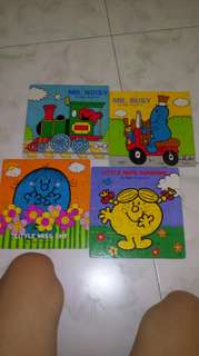 All for $2 Puzzles little miss and mr men #Contiki2018