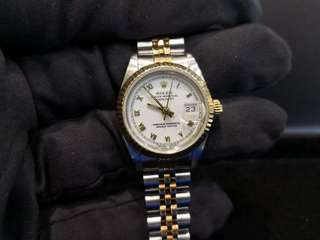 PREOWNED ROLEX Datejust, 69173 Yellow Rolesor, 26mm, Lady-size, N Series @ Year 1993 Ladies Watch