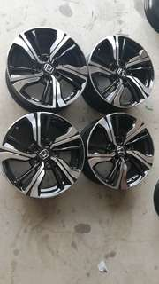Civic fc 1.5tubo rim original