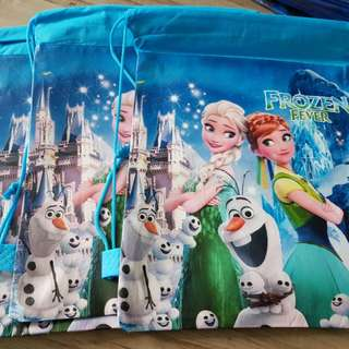 Frozen Bag Drawstring Bag Goody Bag