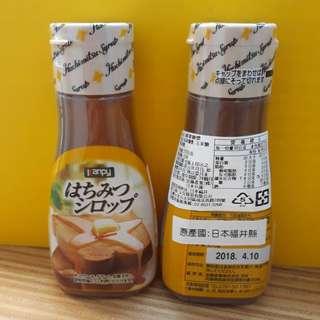 Kanpy加藤蜂蜜糖漿270g即期