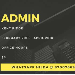 3 MONTHS TEMP FINANCE ADMIN!!!! LIMITED SLOTS AVAIL!