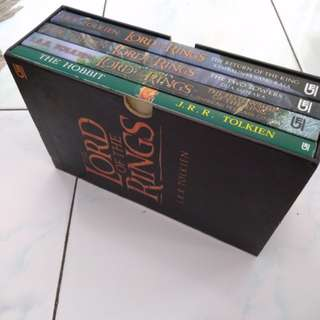 Lord of the Rings Boxset Terjemahan