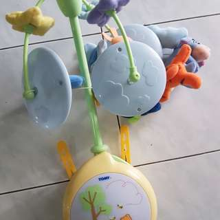 pre loved cot hanging toy