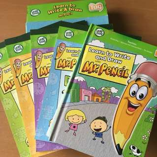 Leapfrog tag book