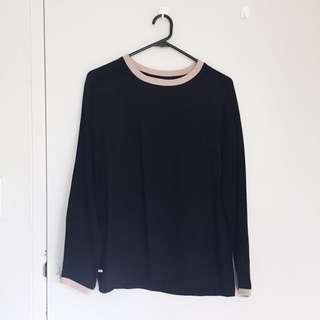 Alpha60 silk blouse