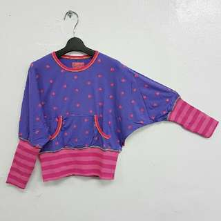 👧 (包郵) Girl's Viscose Jersey Batwing Tops (Fit for 10yrs old) 女童上衣 (適合10歲)