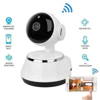 CCTV Wireless IP Camera - Clear/Sharp Video, Night Vision, 2 Way Audio, Motion Detection