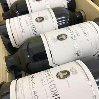 Reserve de la Comtesse 2013 Pichon Lalande 副牌 法國波爾多紅酒