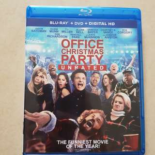 Office Chirstmas Party Blu Ray
